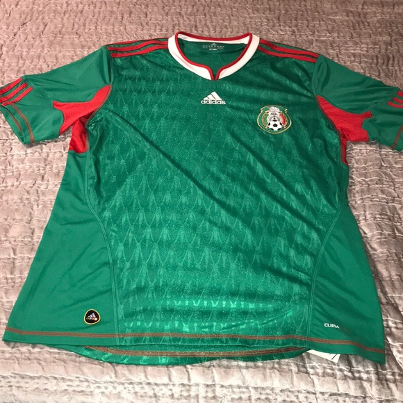 best loved f7a28 1674e Men's Adidas Mexico National Soccer Team Jersey NWT